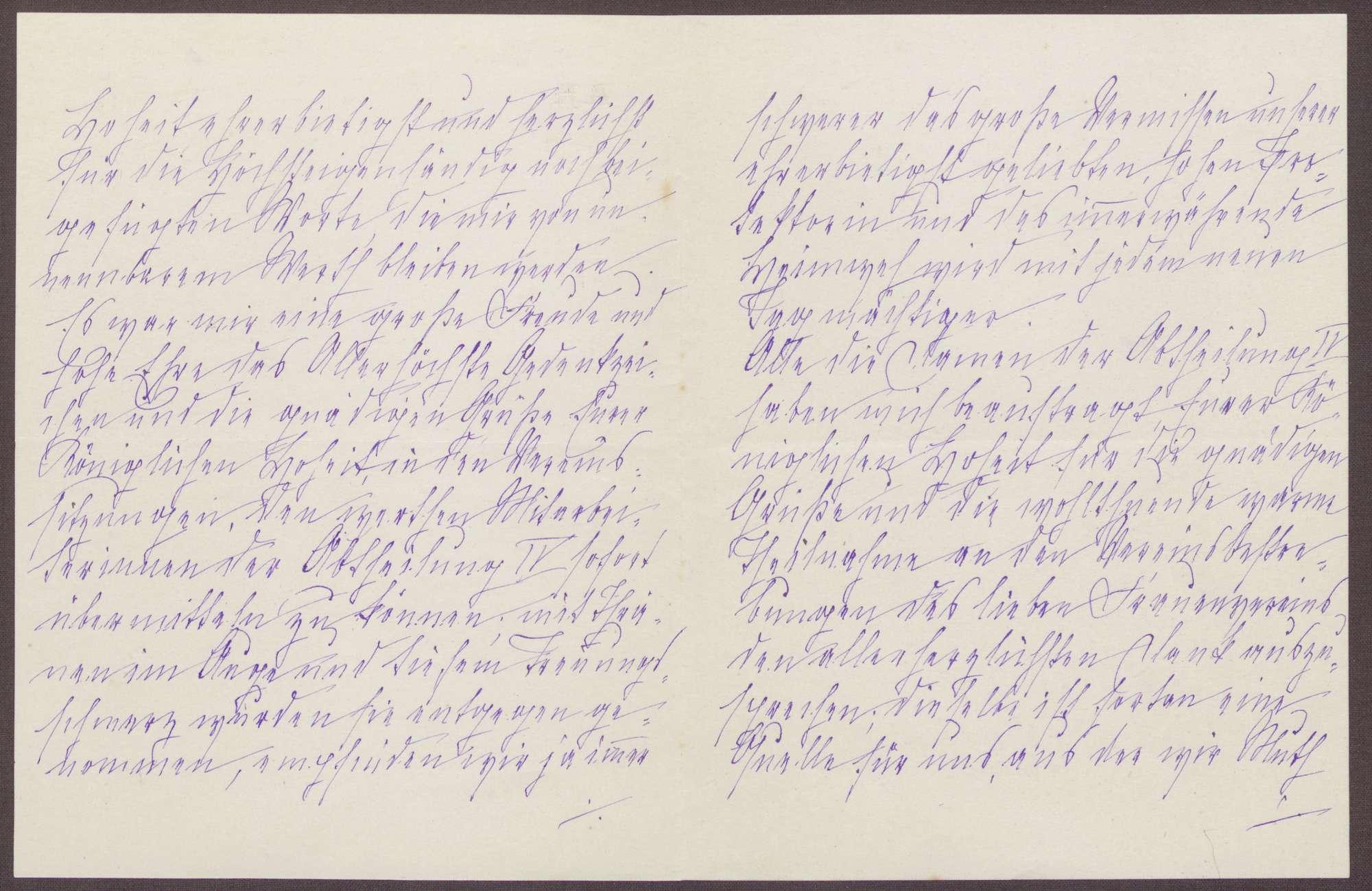 Schreiben von Anna Haas an die Großherzogin Luise; Leben mit knappen Nahrungsmittelrationen und der Zwang zum Sparen von Holz und Kohle; Frage der Unterhaltung einzelner Schulen, Bild 2