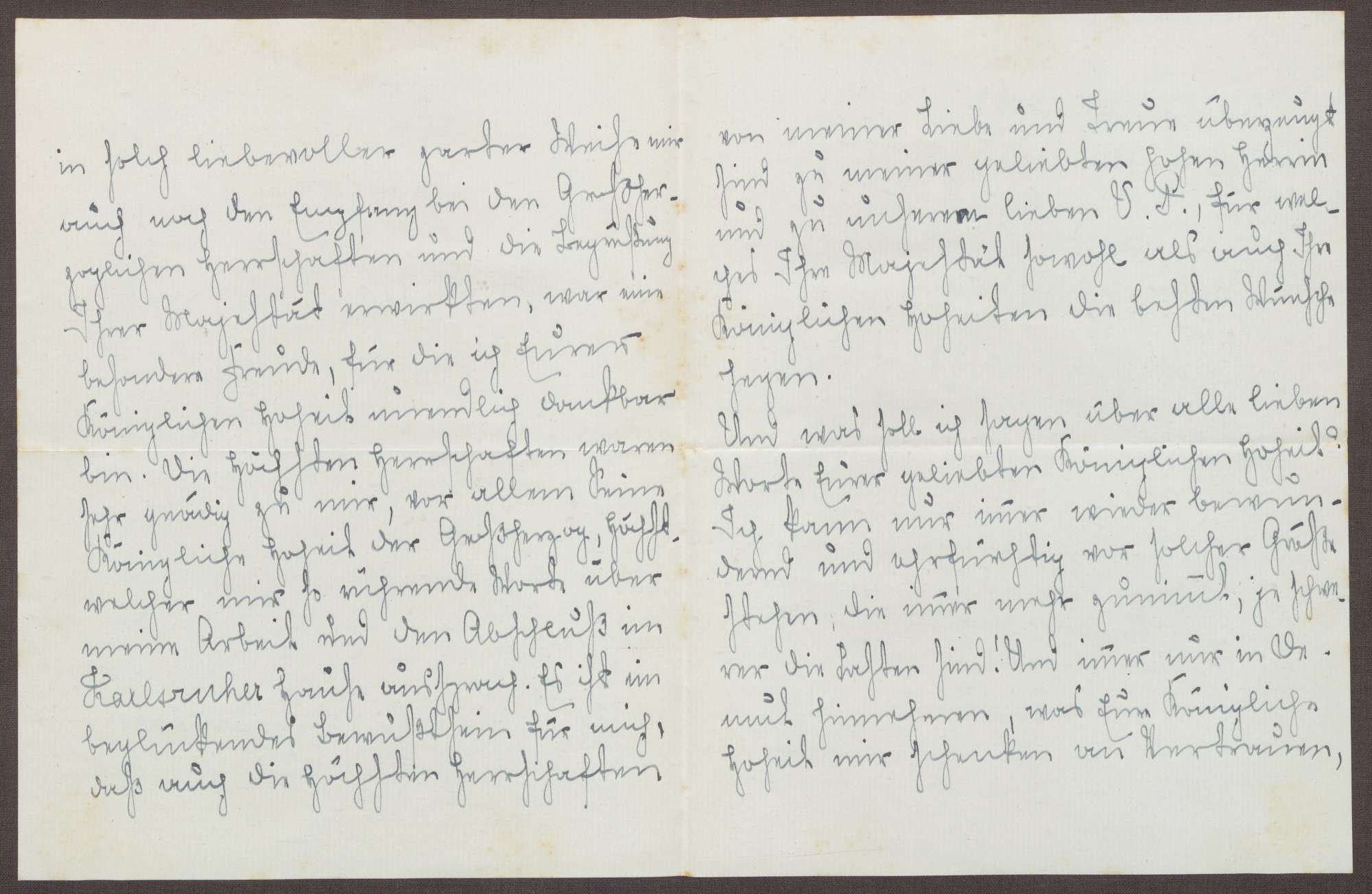 Schreiben von Emilie Göler an die Großherzogin Luise; Treffen mit dem Großherzog Friedrich II., Bild 2