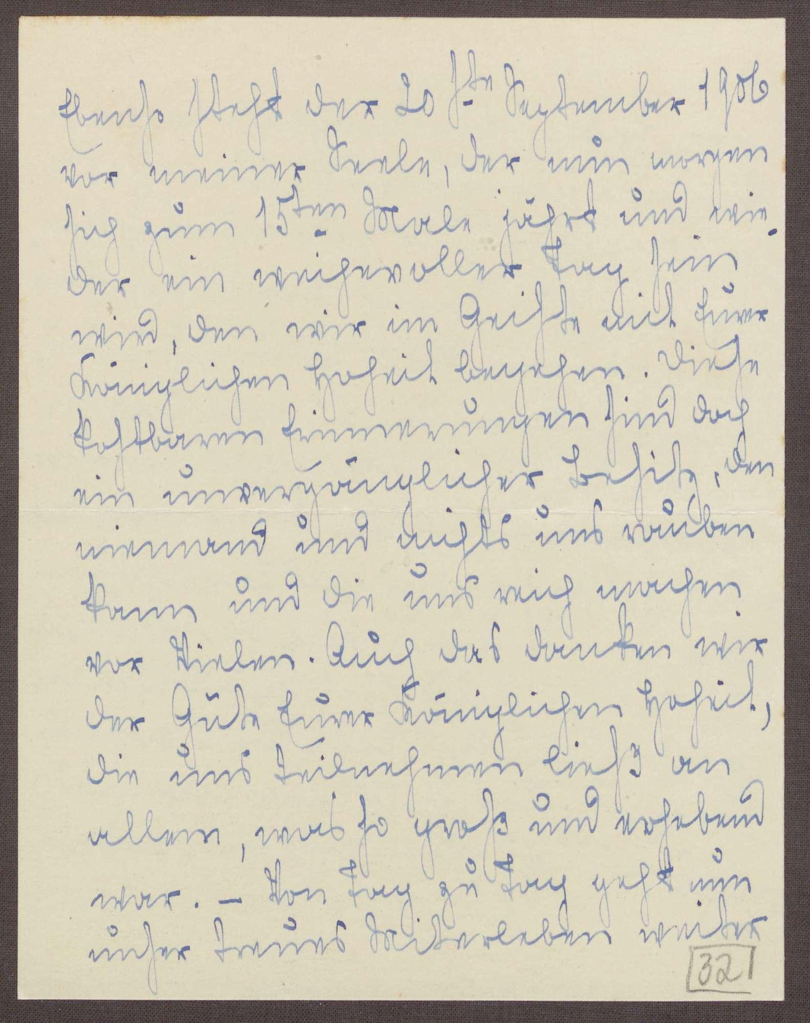 Schreiben von Emilie Göler an die Großherzogin Luise; Aufenthalt der ehemaligen Kinder des Pensionats auf der Insel Mainau und Erinnerungen an die eigene Reise, Bild 3