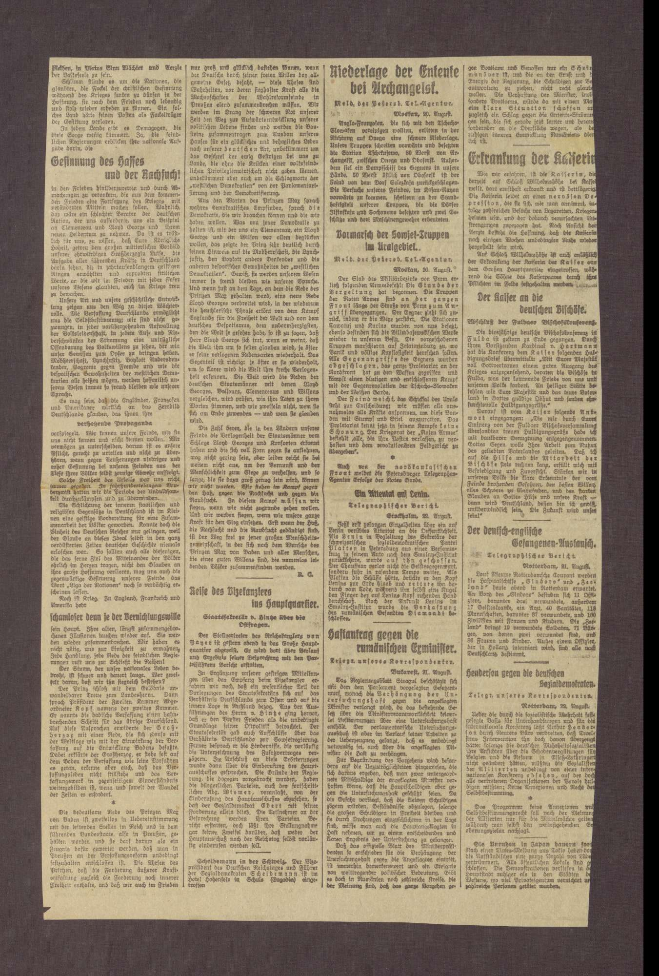 """Artikel in der Berliner Morgenpost: """"Äußere Kraftentlastung und innere Freiheit"""", Bild 2"""