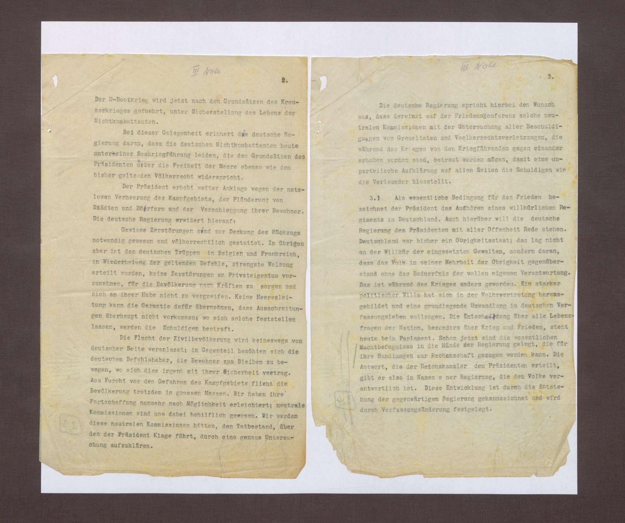 3. Note, 18.10.1918, Bild 2