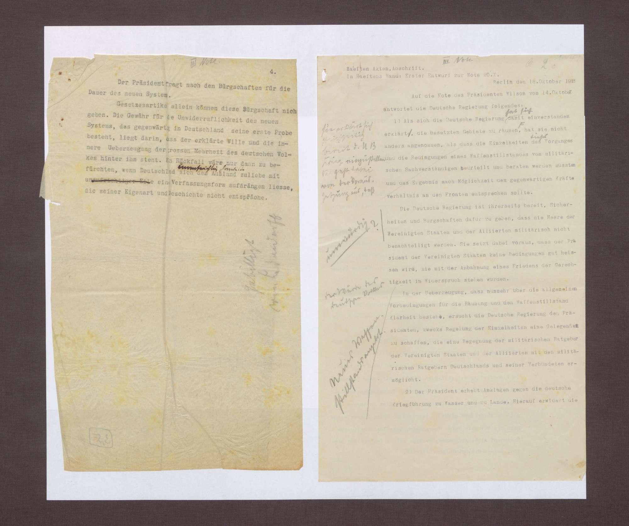 3. Note, 18.10.1918, Bild 3
