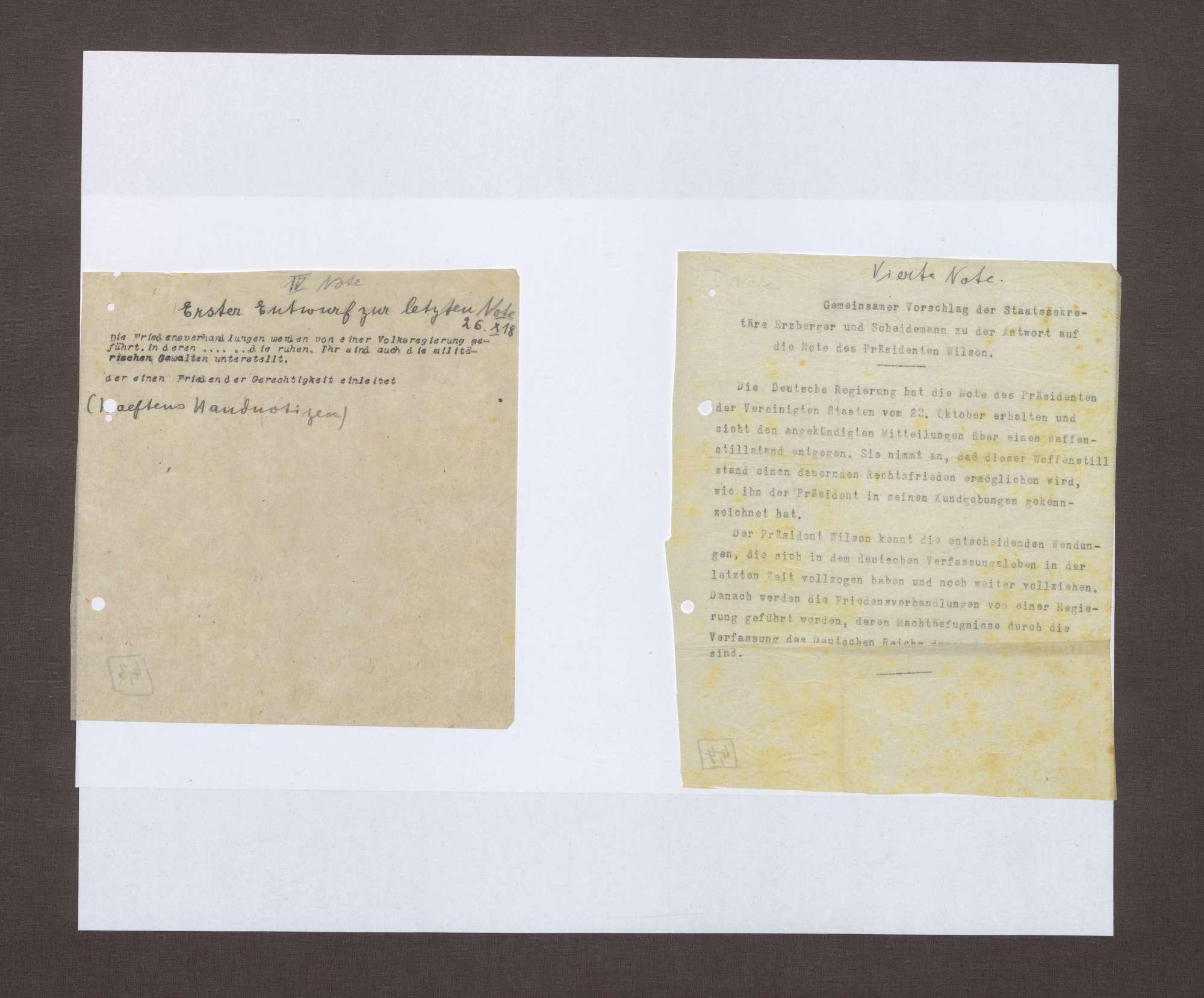4. Note, 25.10.1918, Bild 2
