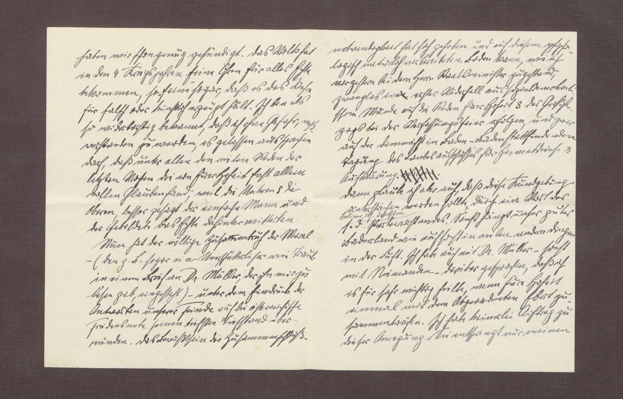Schreiben von Anton Fendrich an Prinz Max von Baden; Verhältnis der Sozialdemokraten zu Prinz Max, Vorschlag eines Treffens mit Friedrich Ebert, Essener Rede Wilhelms II. [vor Krupp-Arbeitern, 11.9.], Bild 2