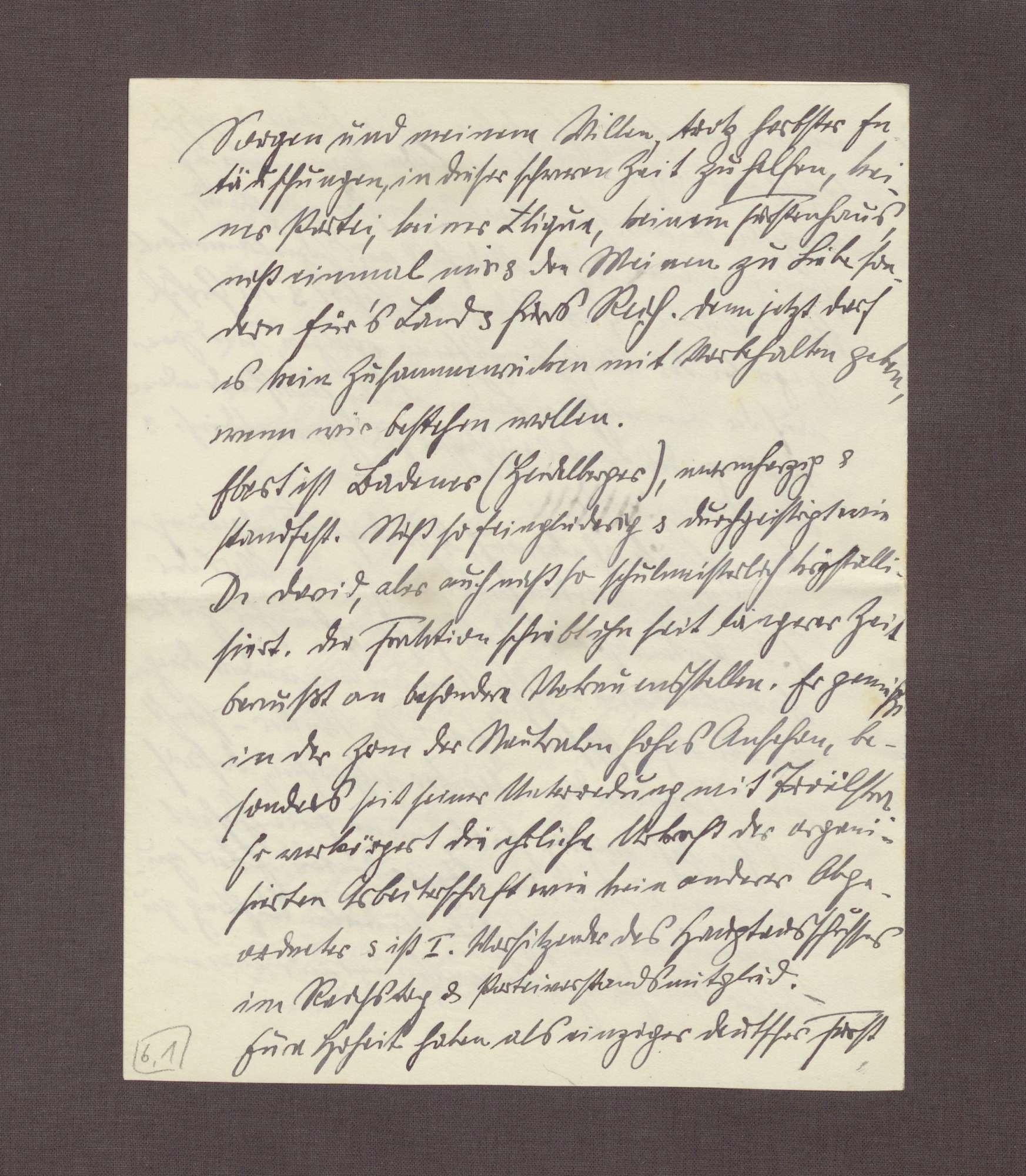 Schreiben von Anton Fendrich an Prinz Max von Baden; Verhältnis der Sozialdemokraten zu Prinz Max, Vorschlag eines Treffens mit Friedrich Ebert, Essener Rede Wilhelms II. [vor Krupp-Arbeitern, 11.9.], Bild 3