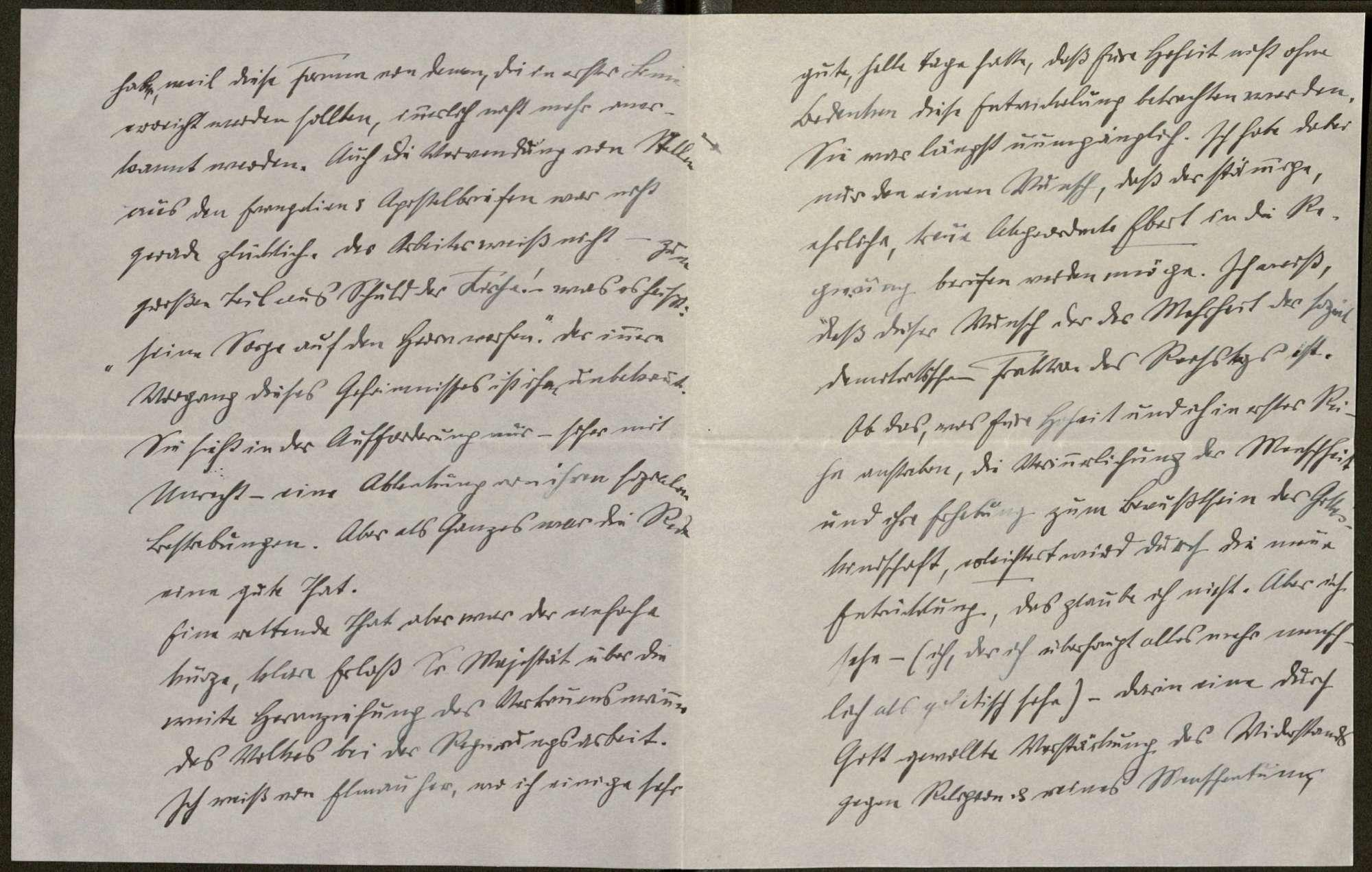 Schreiben von Anton Fendrich an Prinz Max von Baden; Regierungsbeteiligung Friedrich Eberts, Bild 2