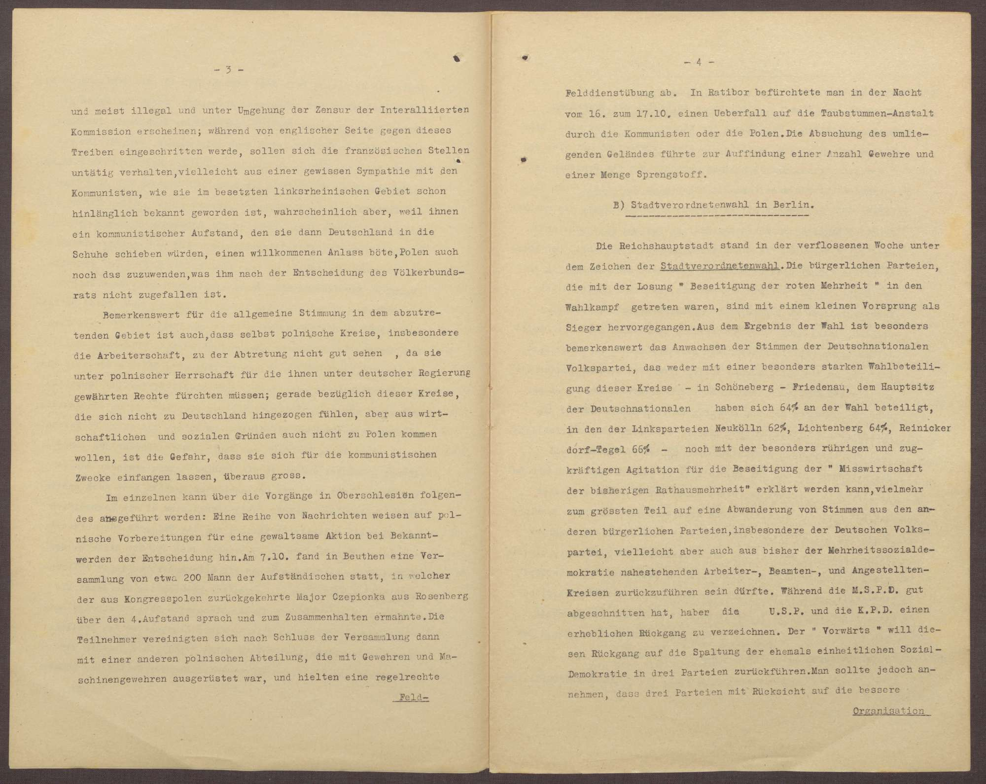 Lageberichte des Reichskommissars für Überwachung der öffentlichen Ordnung, Nr. 58a; zweimal vorhanden, Bild 3