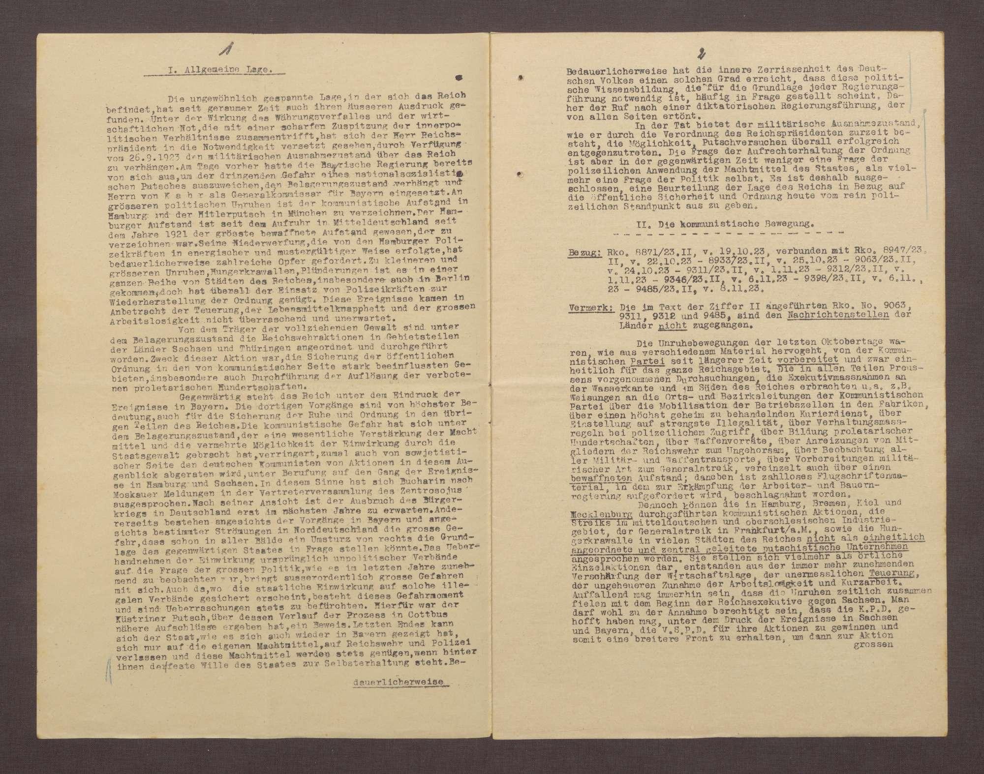 Lageberichte des Reichskommissars für Überwachung der öffentlichen Ordnung, Nr. 98, Bild 2