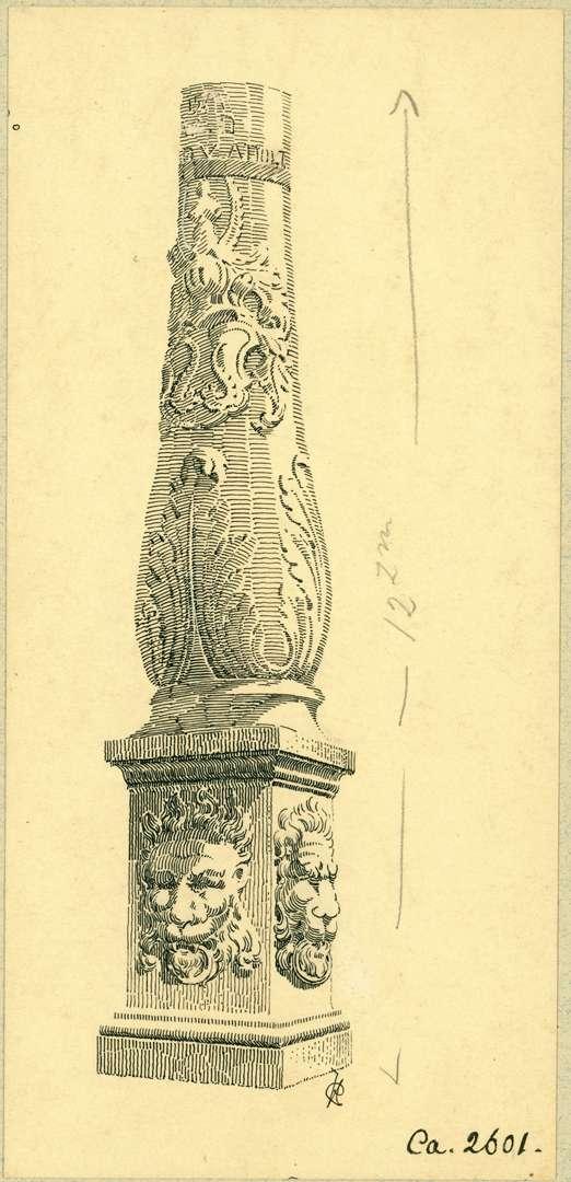 Adelsheim Unterer Teil einer Säule, Bild 1