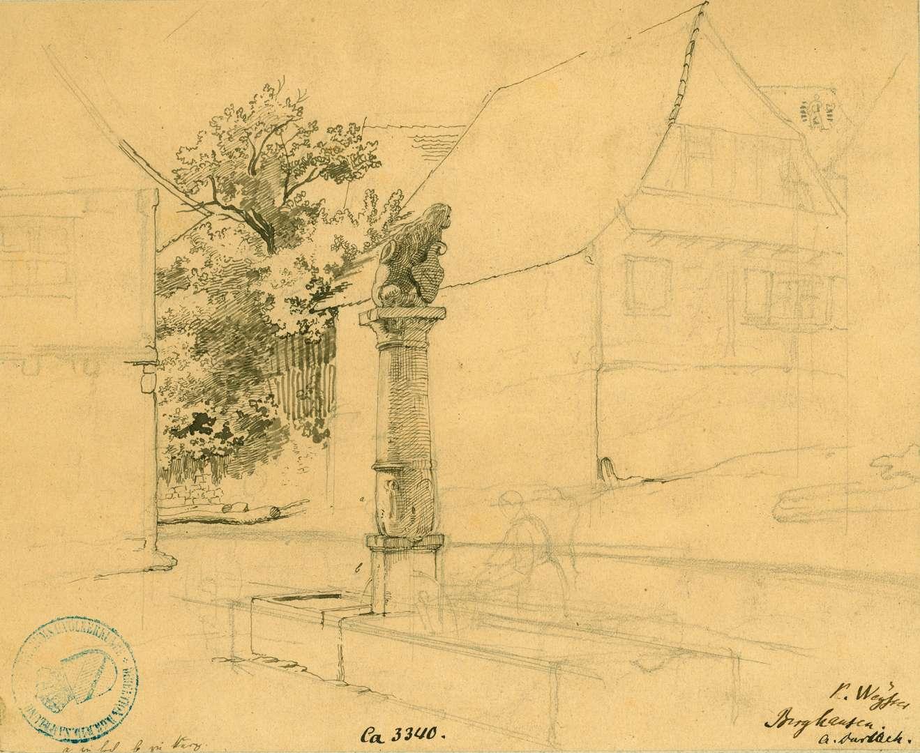 Berghausen Löwenbrunnen, Bild 1
