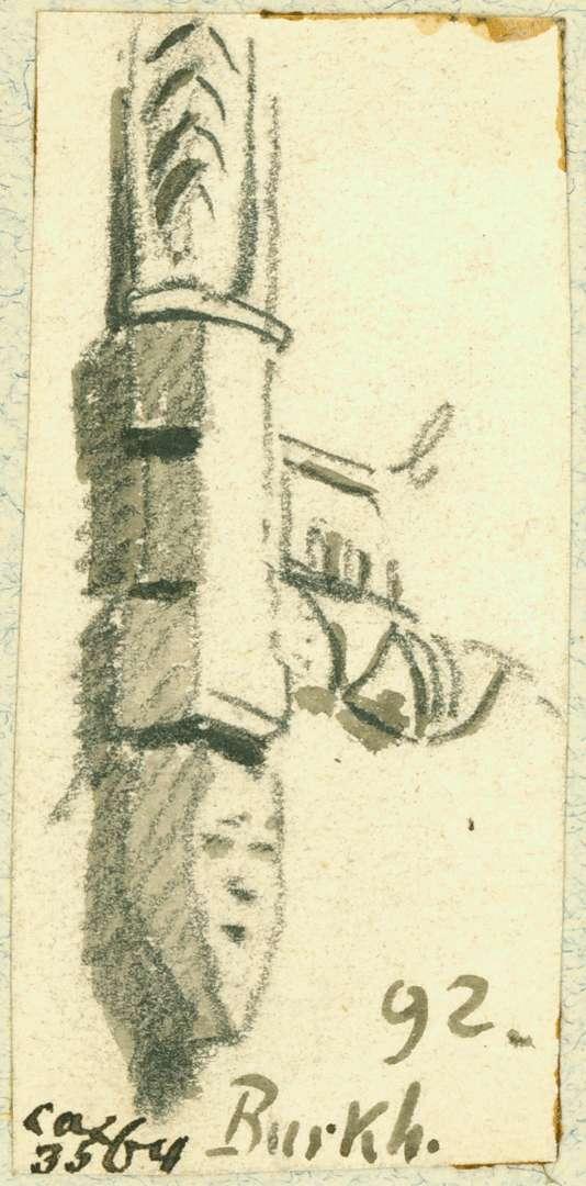Burkheim Detail Fensterrahmen, Bild 1