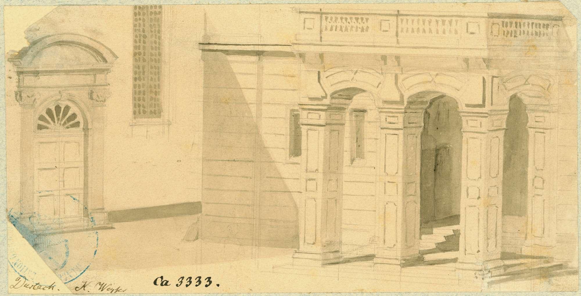 Durlach Rathausvorhalle, Bild 1