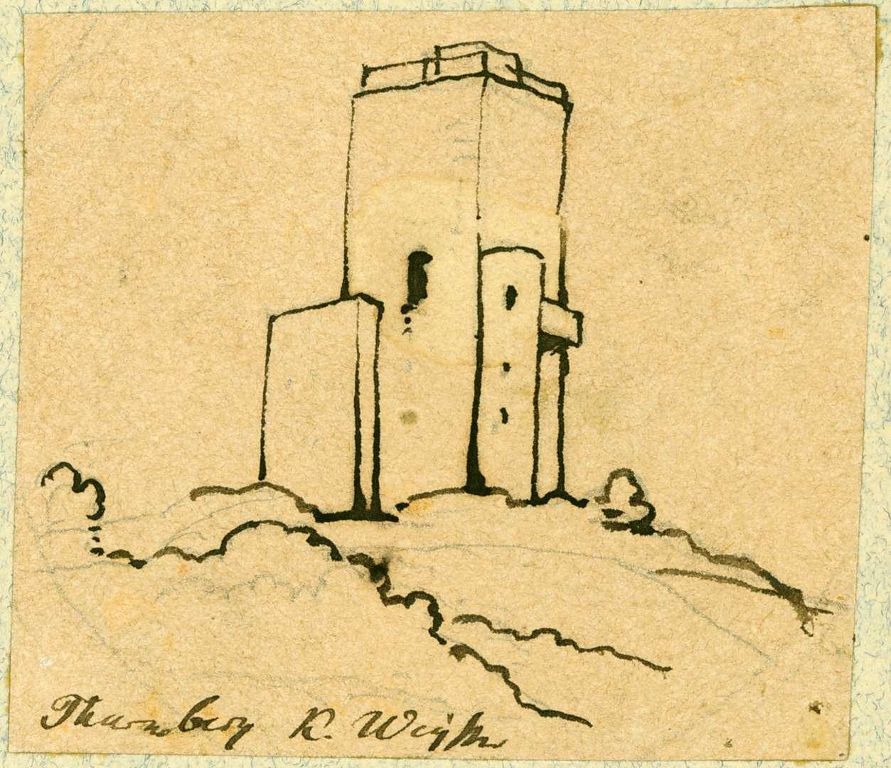 Durlach Turmberg mit Ruine, Bild 1