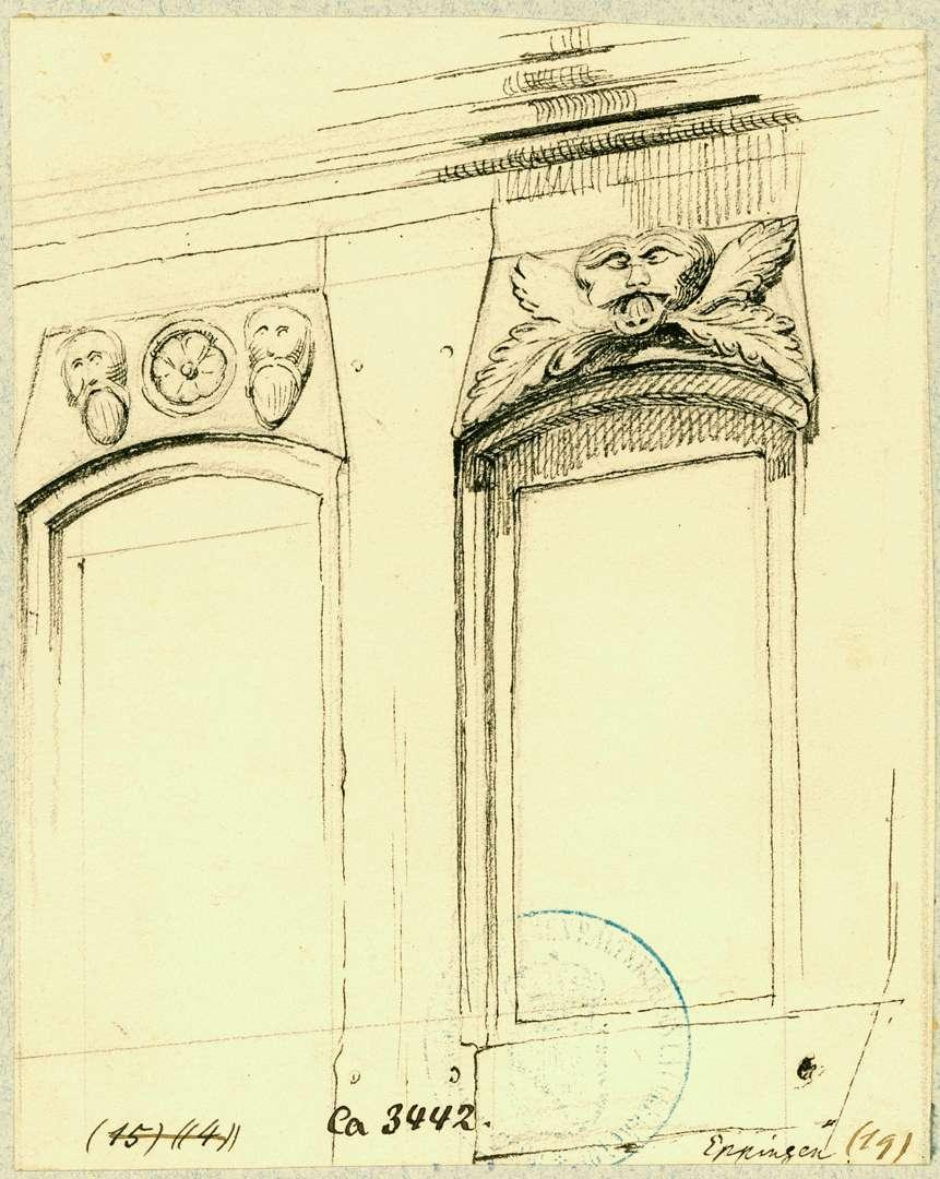 Eppingen Fensterrahmen Treppenhaus Baumann