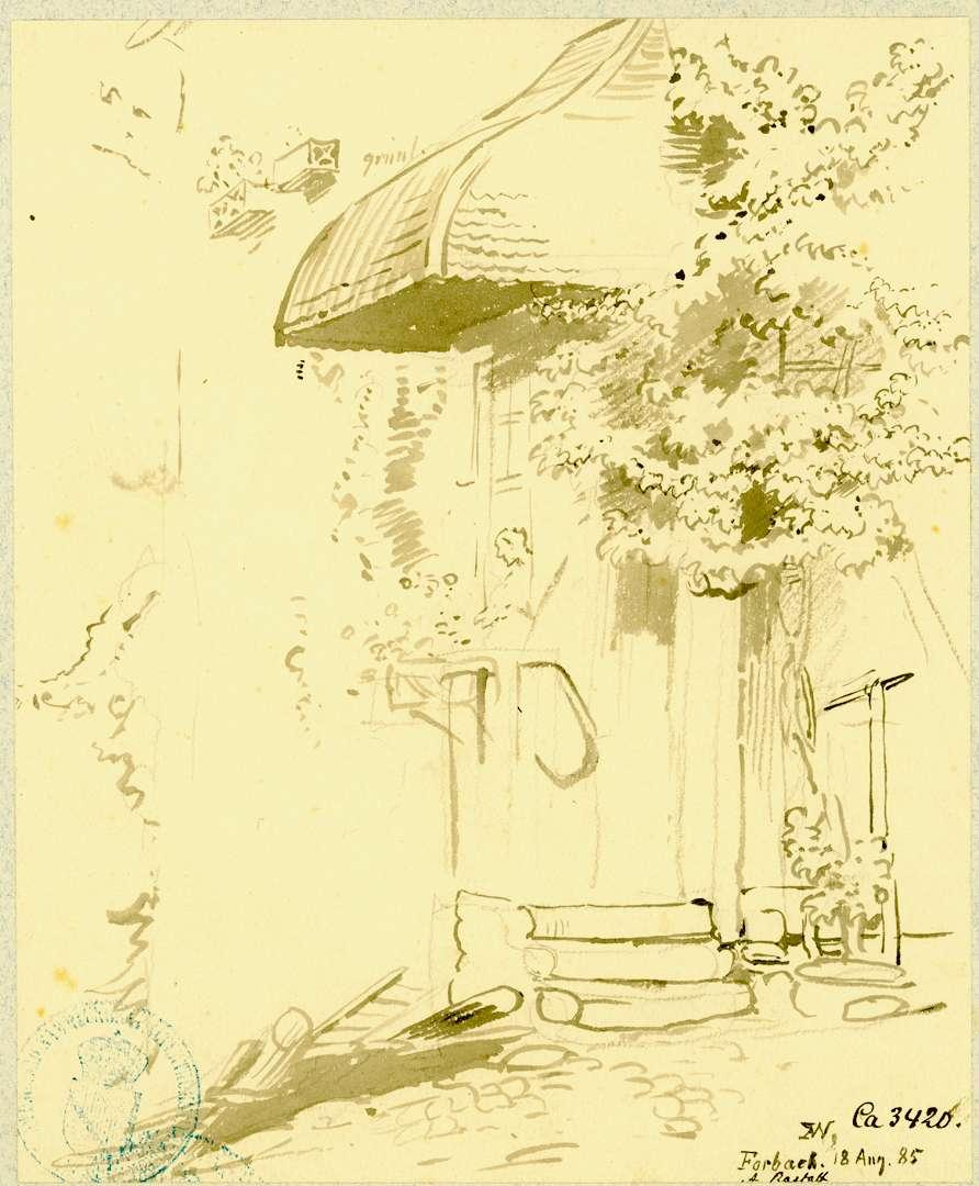 Forbach Überdachter Hauseingang, Bild 1