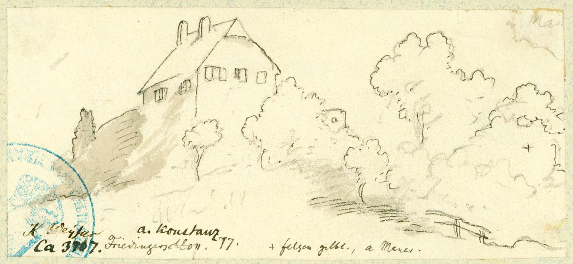 Friedingen Ansicht Schloss, Bild 1