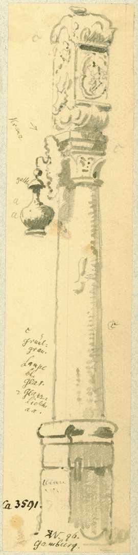 Gamburg Bildstock am Mühlentor, Bild 1