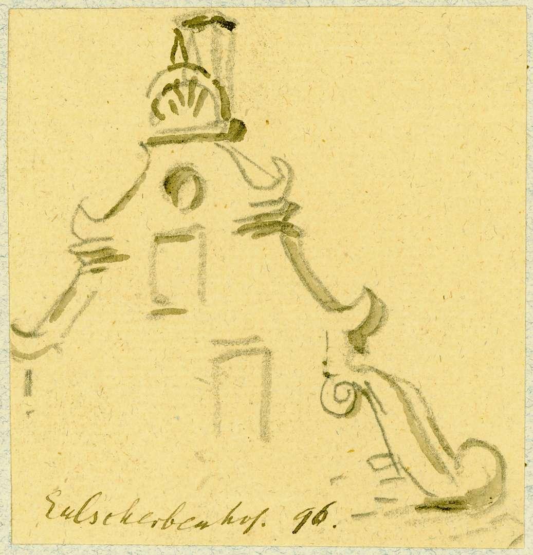 Gamburg Volutengiebel, Bild 1