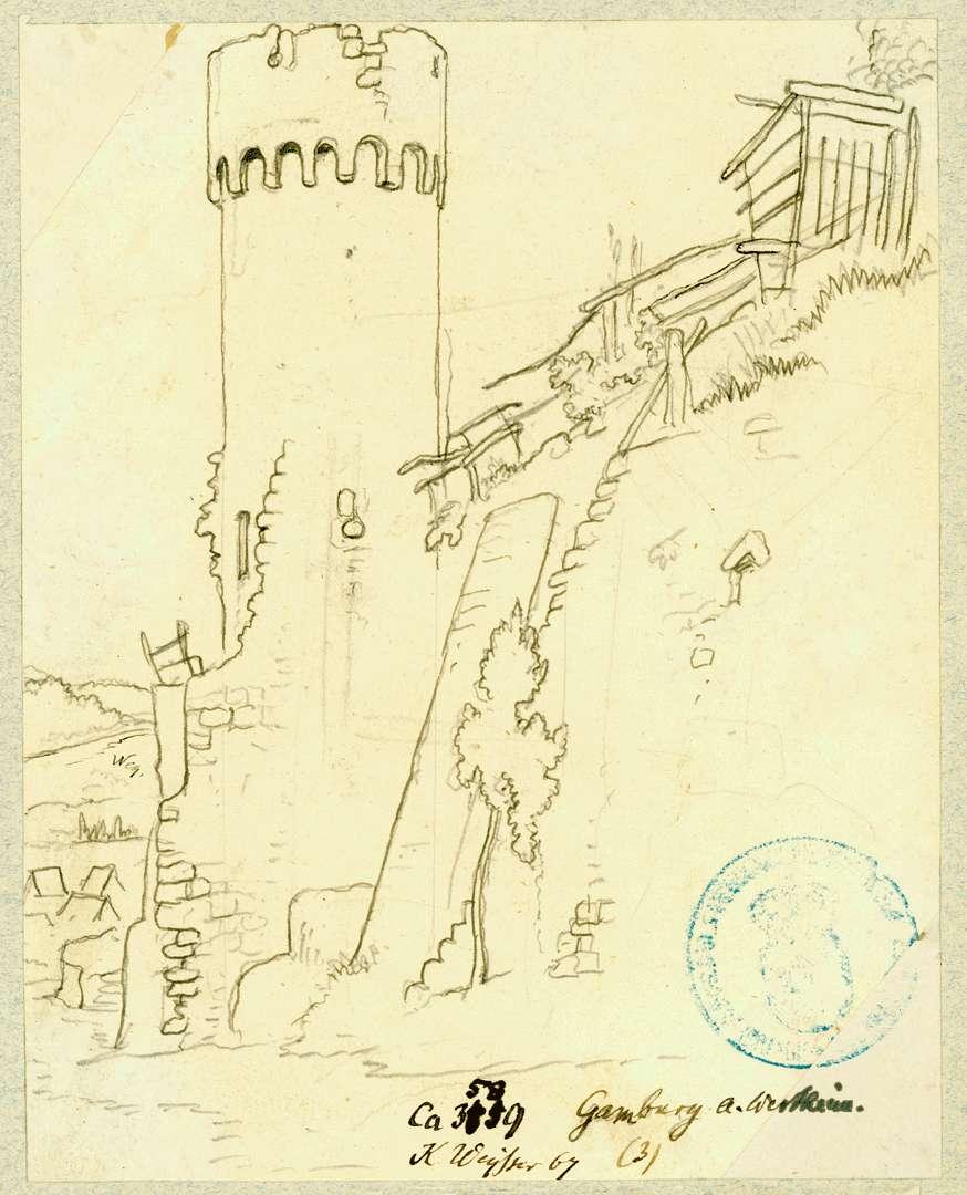 Gamburg Festungsturm, Bild 1