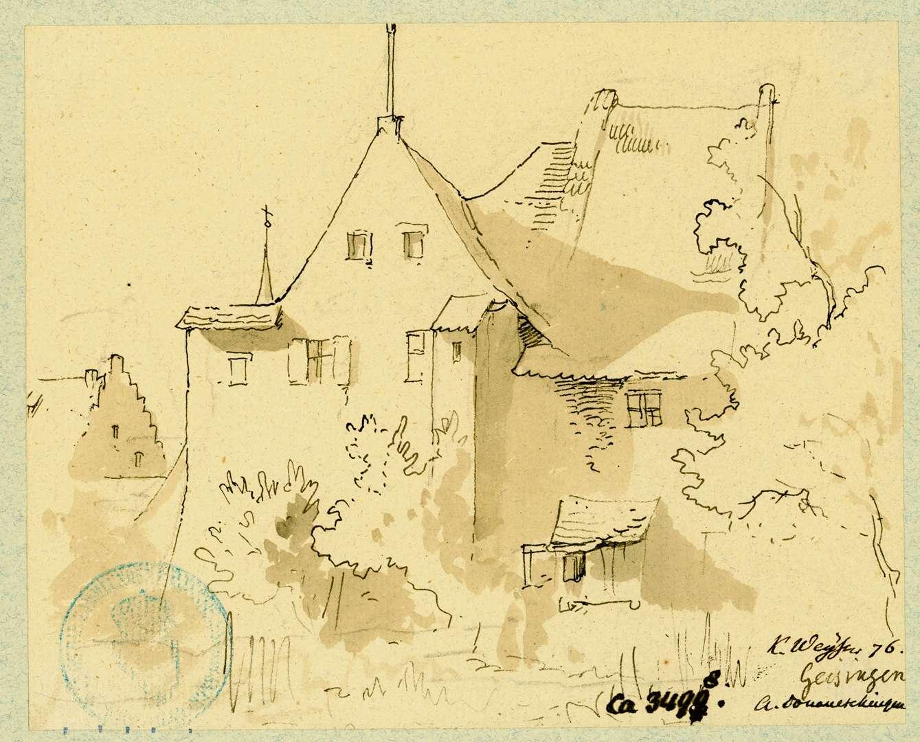 Geisingen Bauernhaus, Bild 1