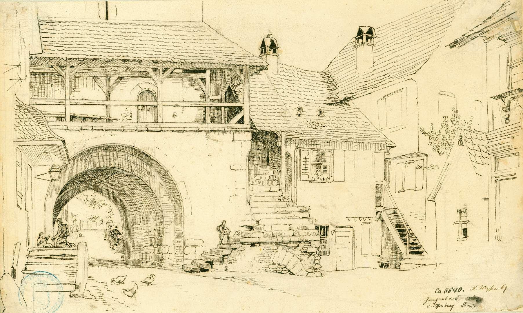 Gengenbach Vorbau Obertor, Bild 1