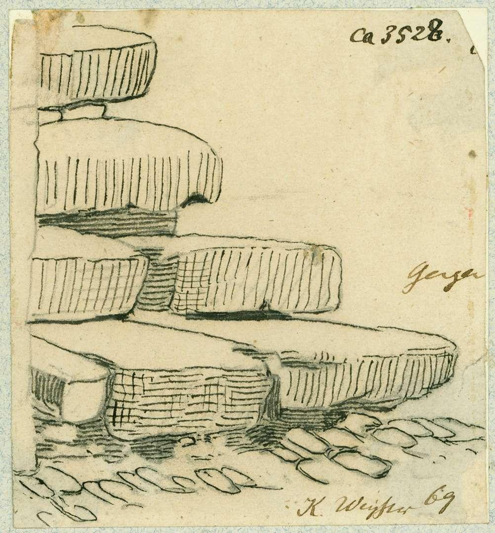 Gengenbach Stufen einer Treppe aus Naturstein, Bild 1