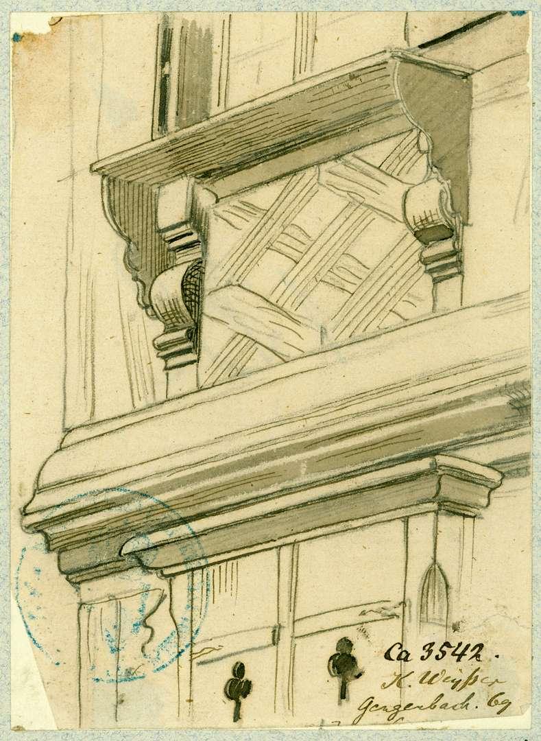 Gengenbach Verzierter Fensterrahmen, Bild 1
