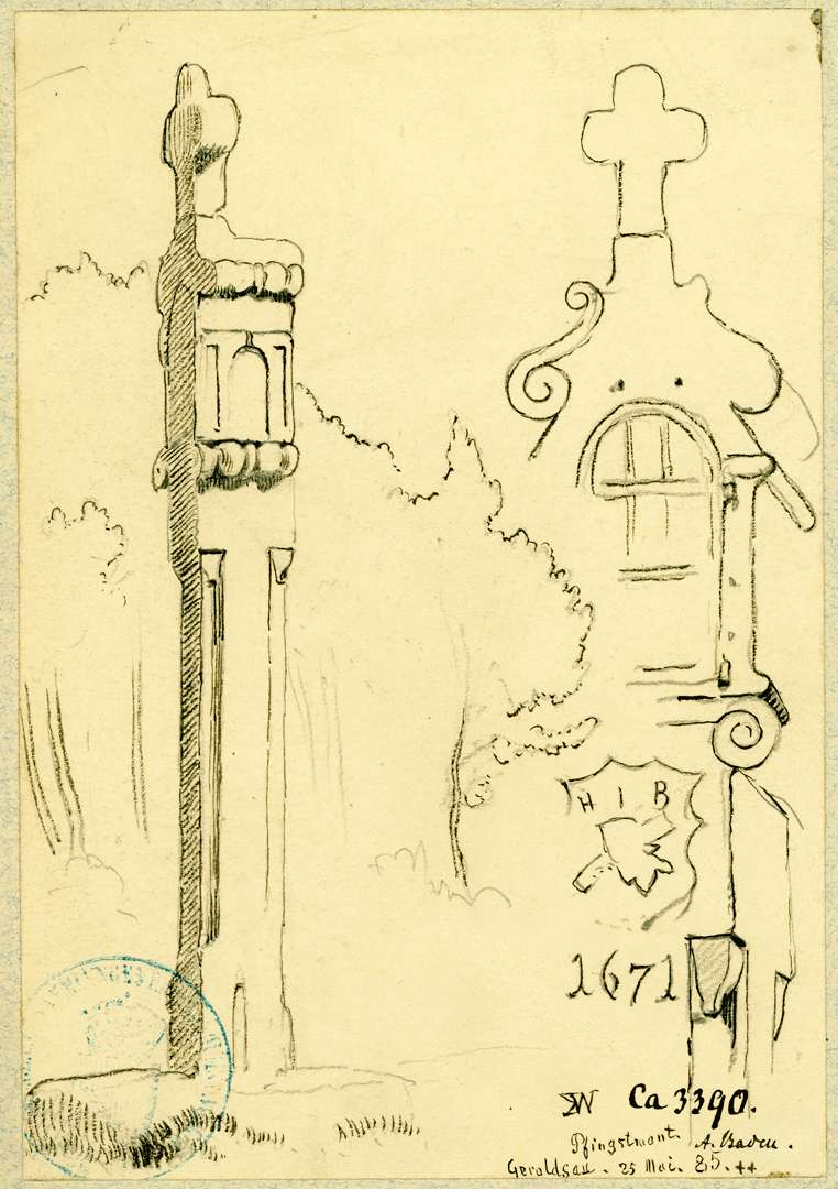 Geroldsau Bildstock aus dem Jahre 1671, Bild 1