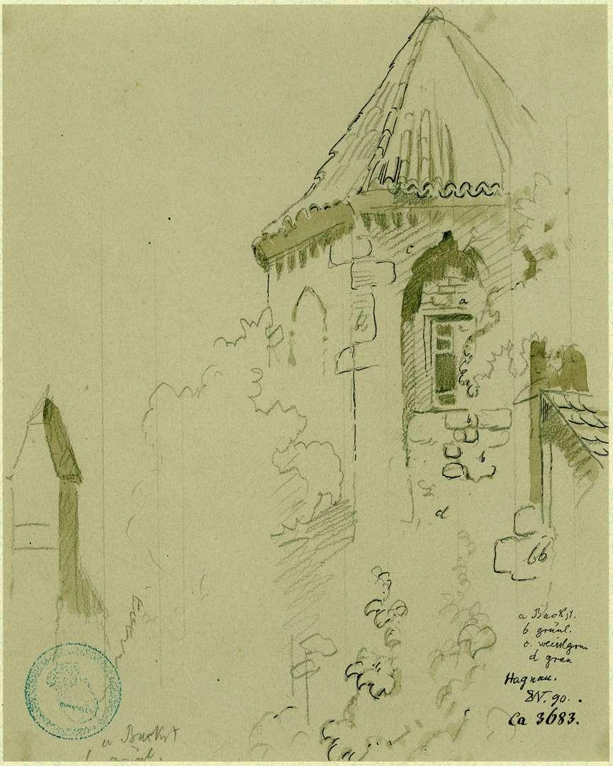 Hagnau Chorpartie St. Georgskirche, Bild 1