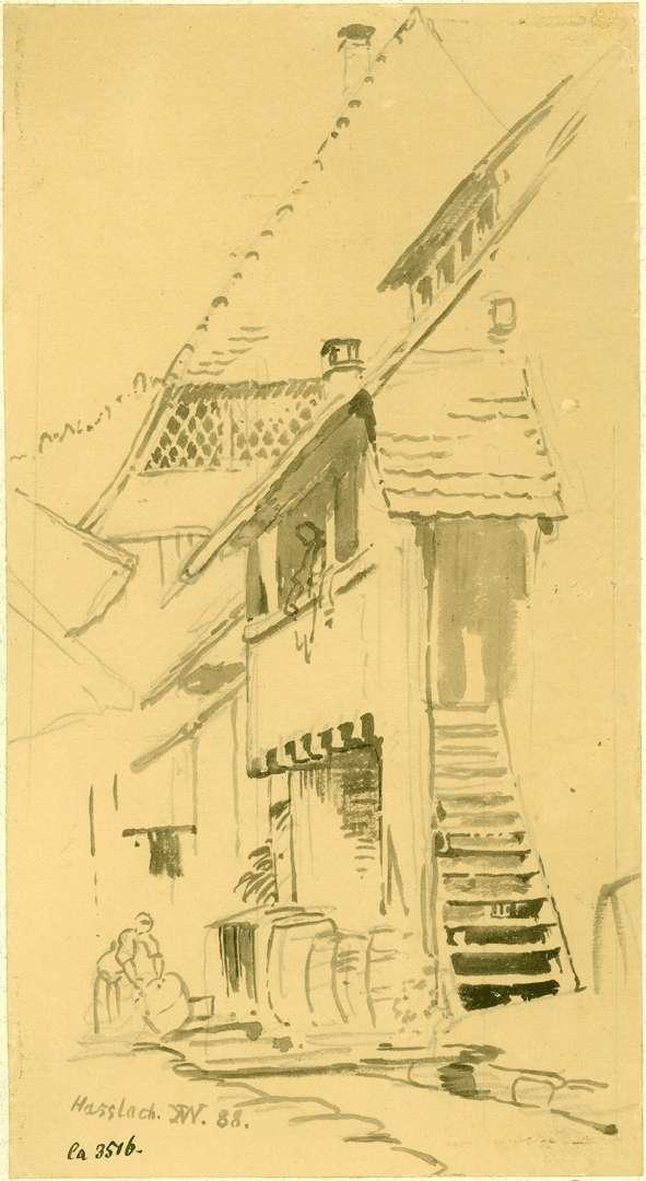 Haslach Gebäudewinkel mit Weinkellerei, Bild 1