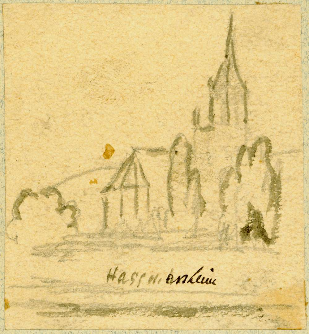 Haßmersheim Pfarrkirche von Osten, Bild 1