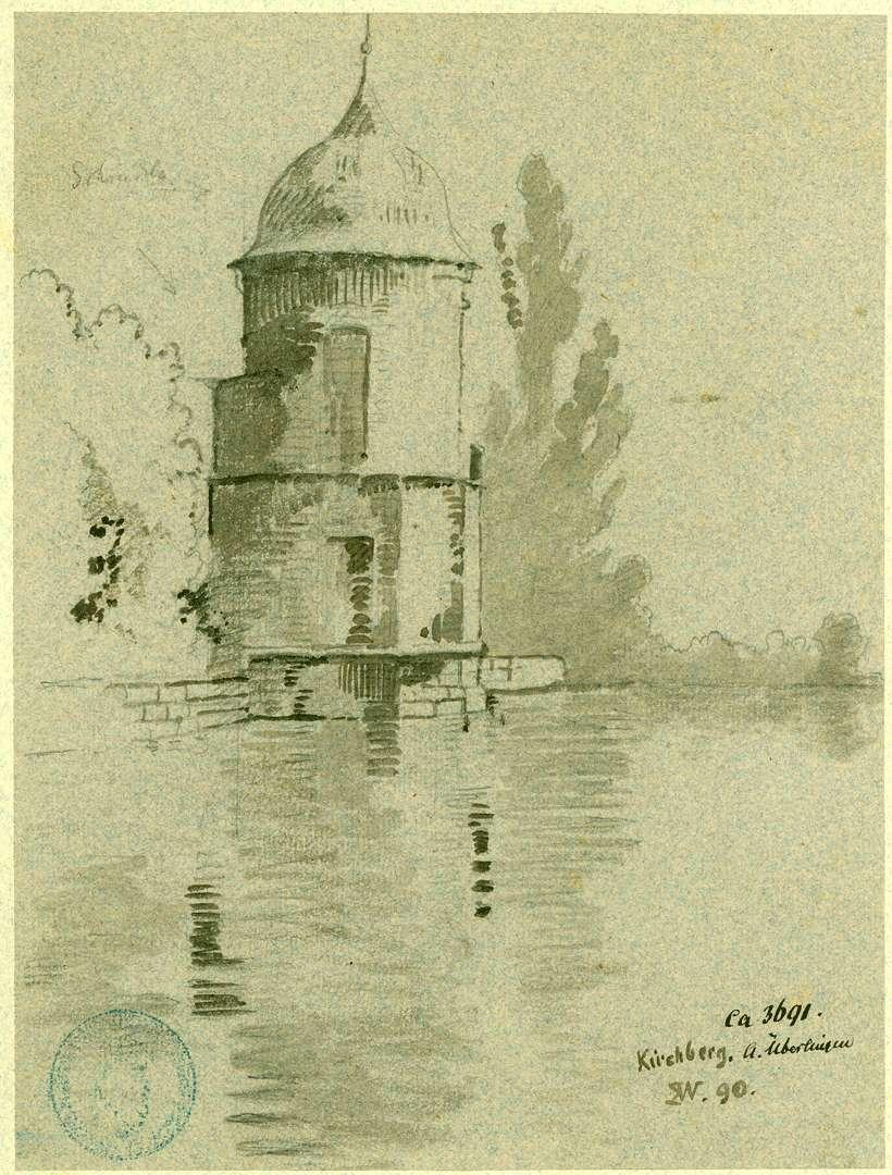 Kirchberg Rundturm am Wasser, Bild 1