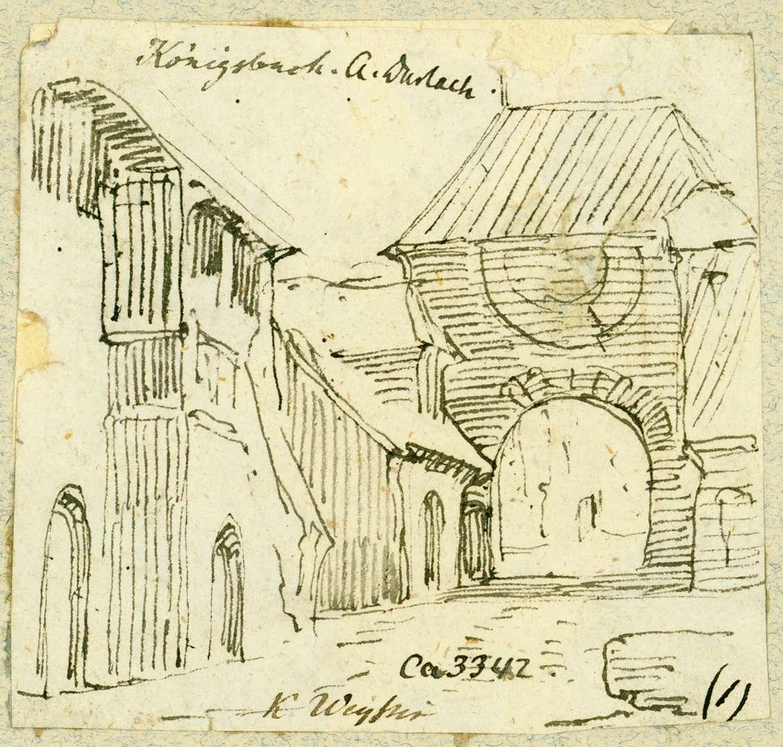 Königsbach Torhaus von Süden, Bild 1