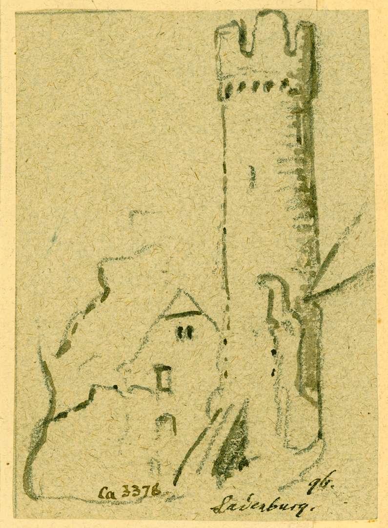 Ladenburg Hexenturm, Bild 1
