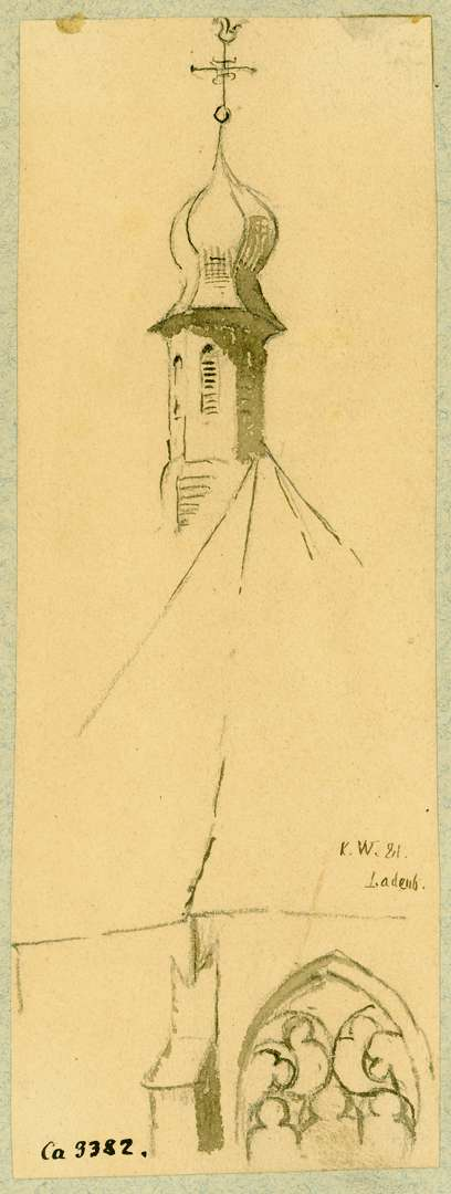 Ladenburg Chorpartie Sebastianskapelle, Bild 1