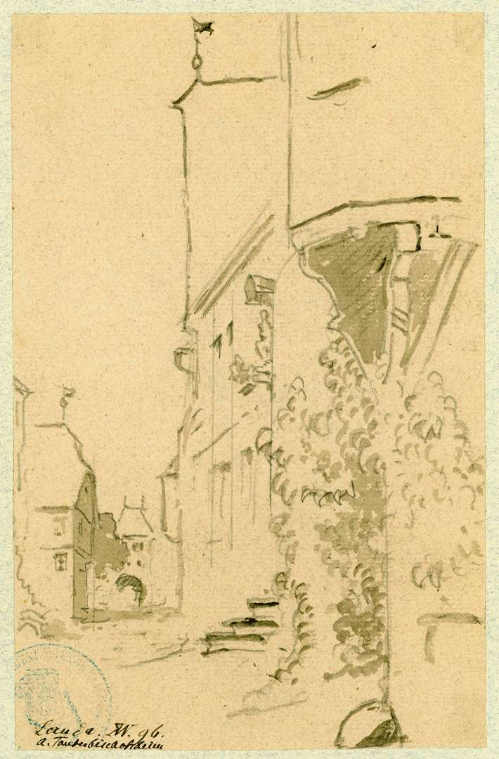 Lauda Hauptstraße mit Blick auf das Obere Tor, Bild 1