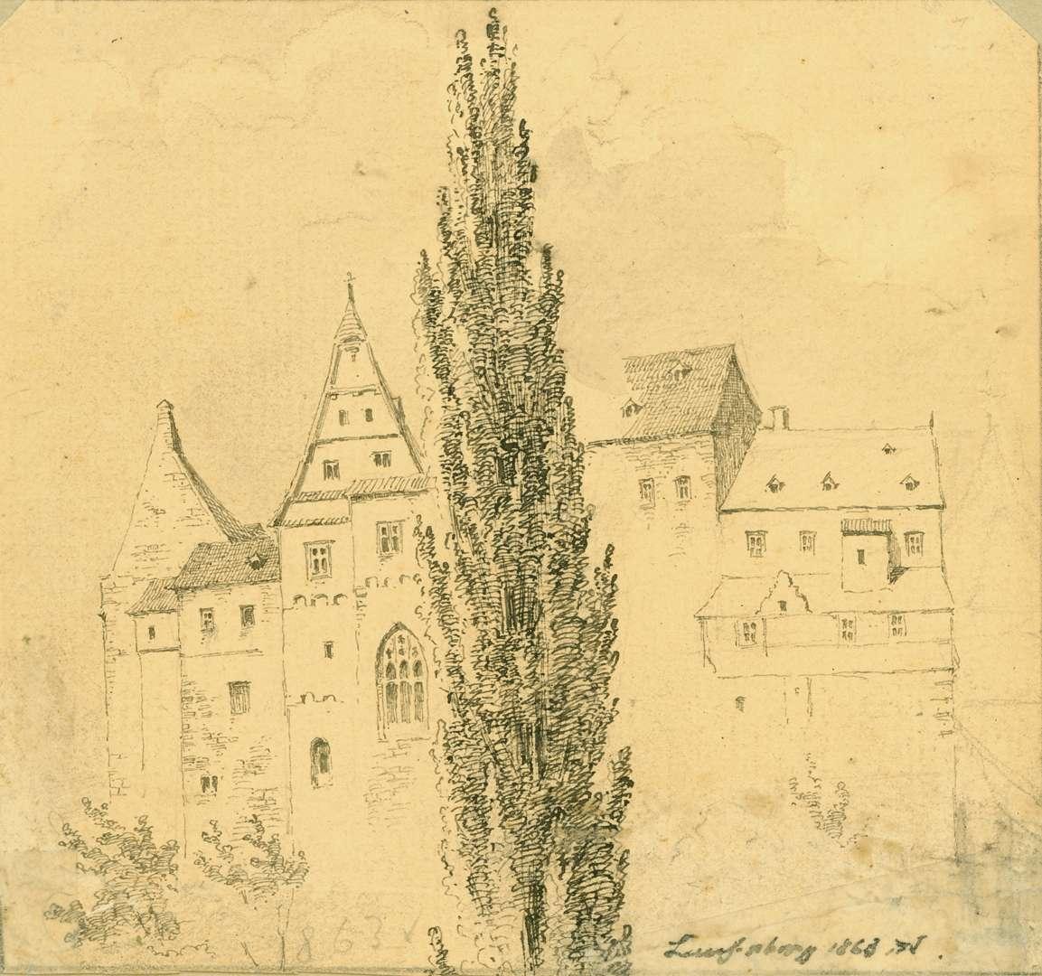 Laufenburg Stadtmauer mit Häusern, Bild 1