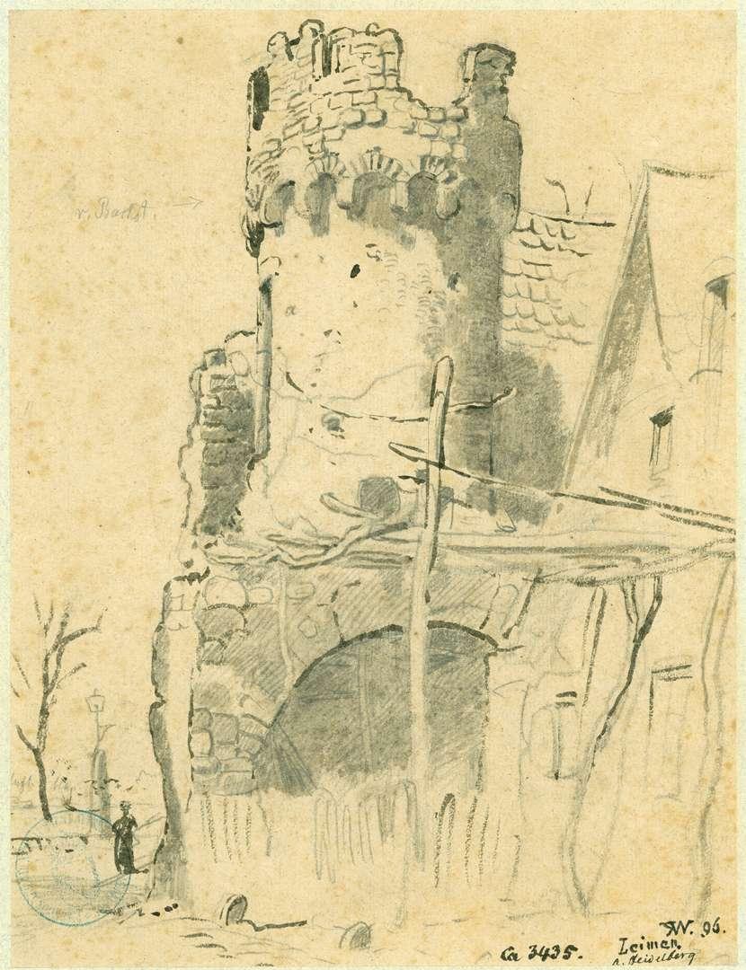 Leimen Franzosenturm, Bild 1