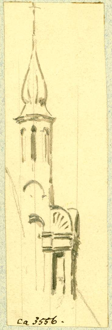 Mahlberg Turmspitze evangelische Pfarrkirche, Bild 1