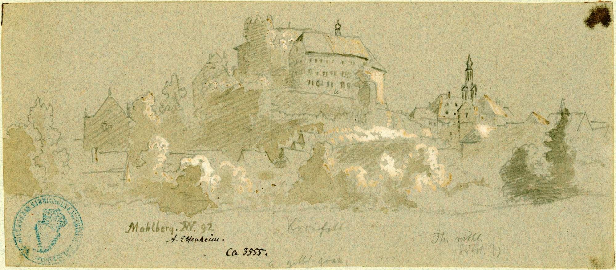 Mahlberg Schlossansicht von Süden, Bild 1