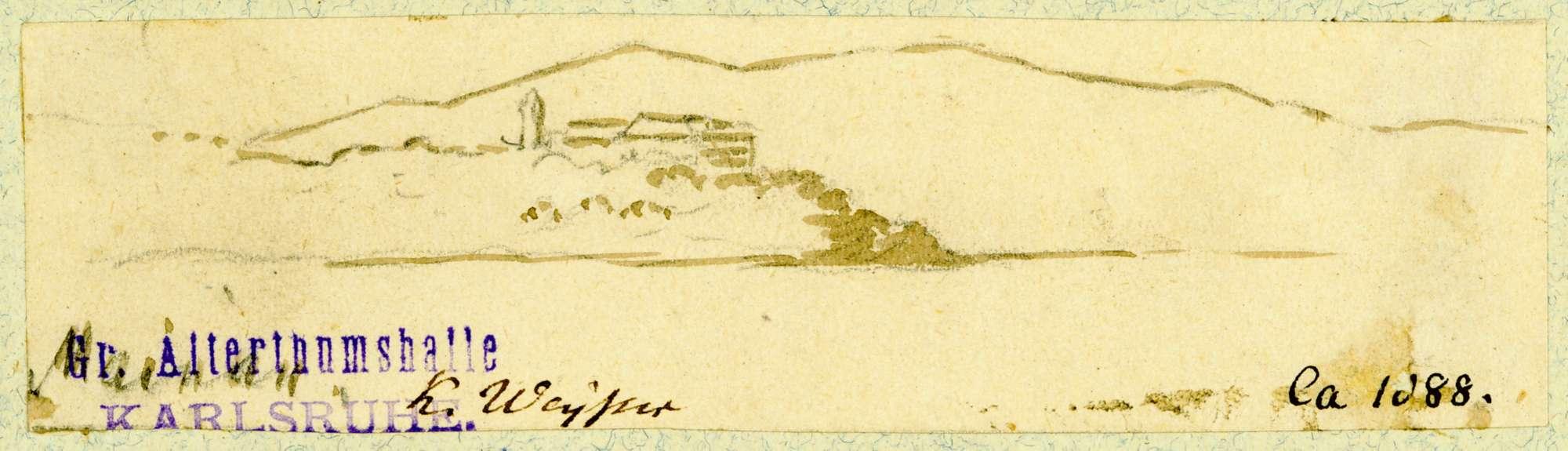 Mainau Blick über Bodensee auf Insel Mainau, Bild 1
