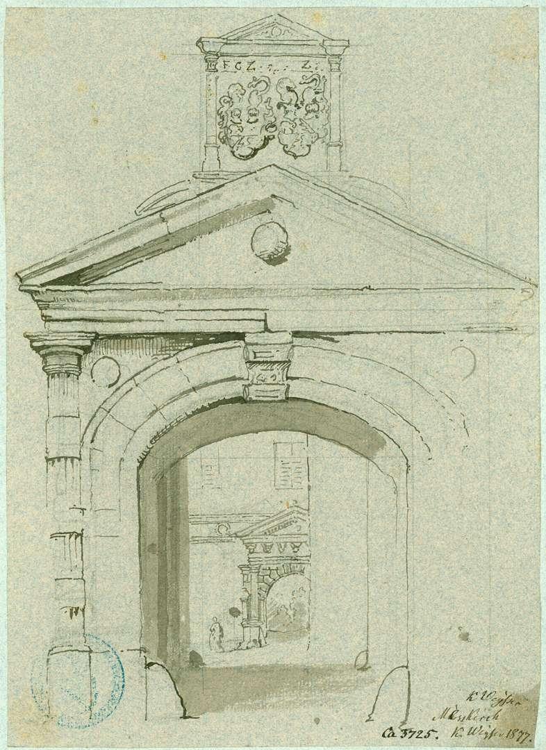 Meßkirch Schlossportal, Bild 1
