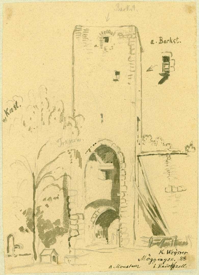 Möggingen Feldseitige Ansicht Stadttor, Bild 1