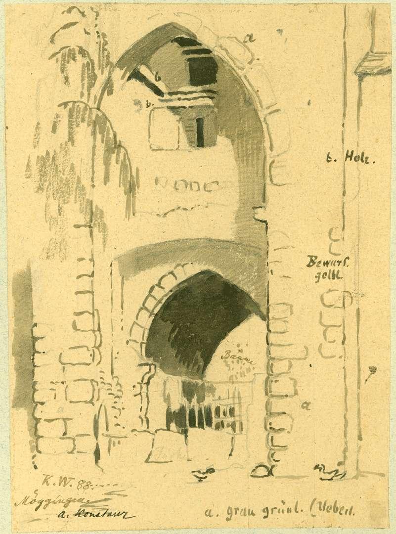 Möggingen Durchgang Stadttor, Bild 1