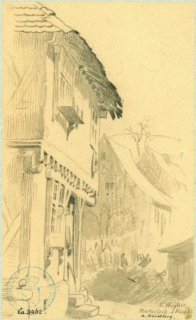 Mückenloch Häuser Hauptstraße, Bild 1