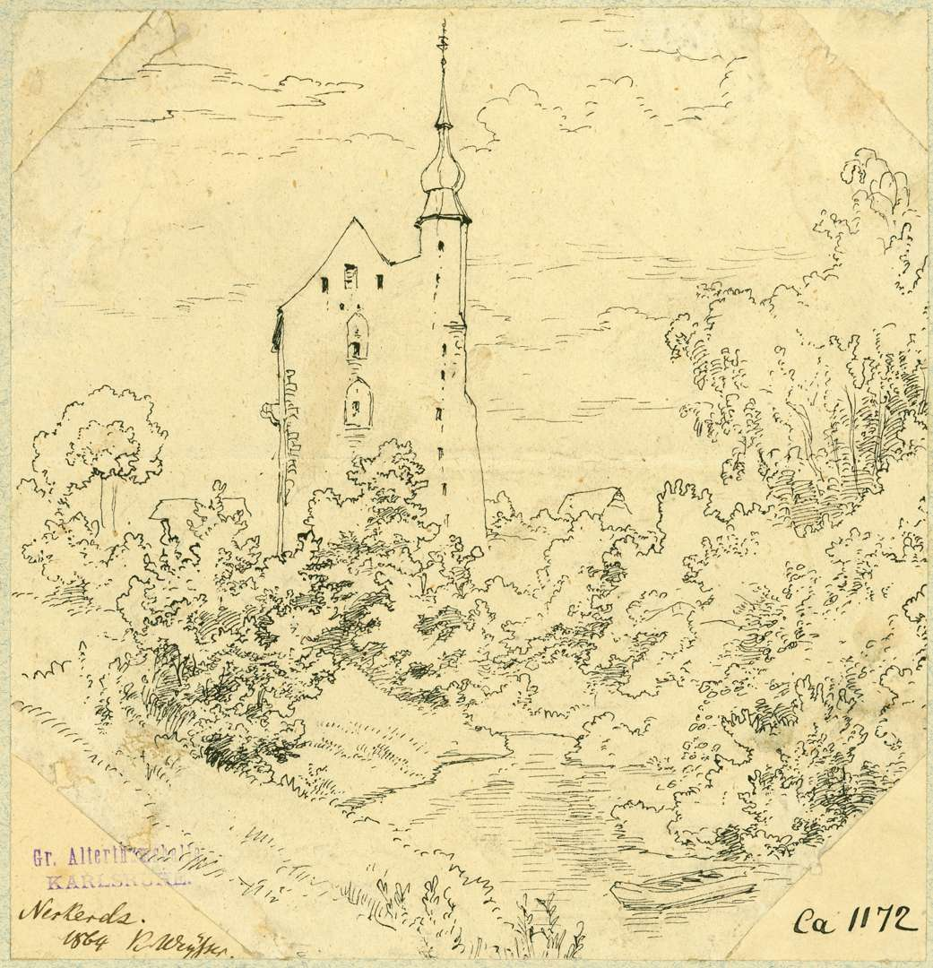 Neckarelz Tempelhaus von Westen, Bild 1