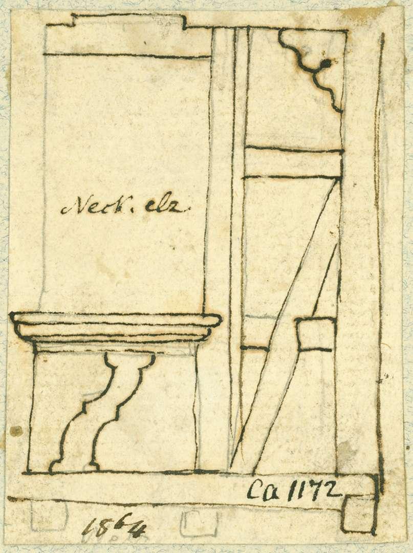 Neckarelz Fachwerkdetail, Bild 1