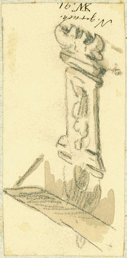 Neckargerach Hausmadonna mit Schutzdach, Bild 1