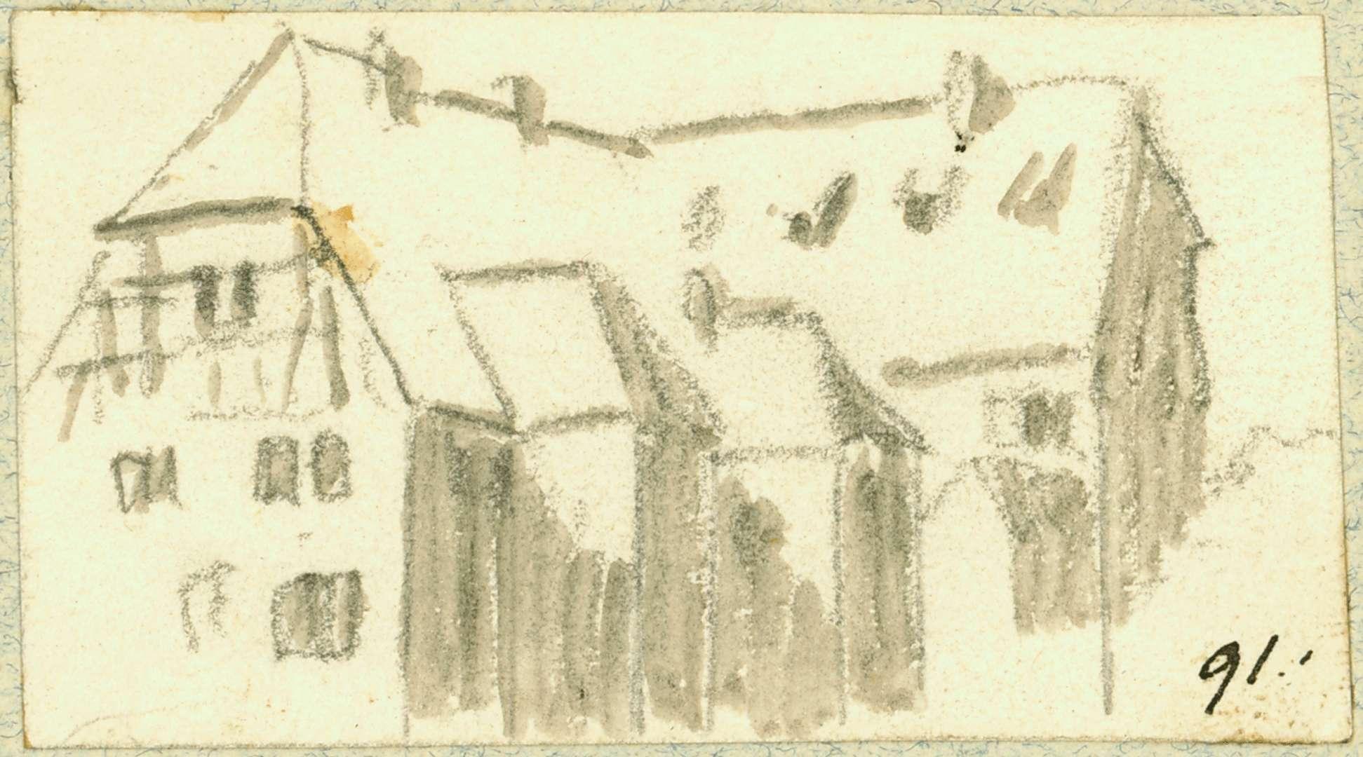 Neidenstein Gebäude mit Vorbauten, Bild 1