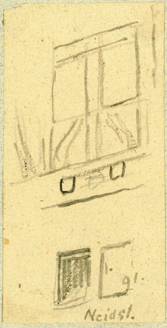 Neidenstein Hauswand mit Fenster, Bild 1